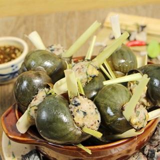 Cách làm Ốc Bươu Nhồi Thịt thơm ngon, hấp dẫn cho cả nhà