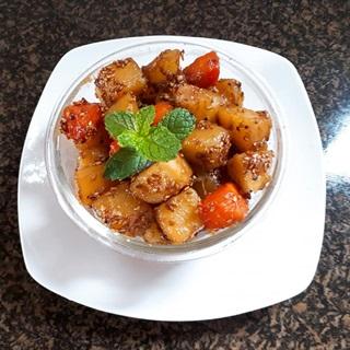 Cách làm khoai tây kho chay