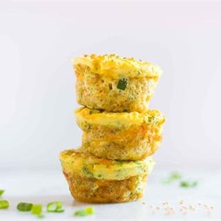 Cách làm Bánh muffin trứng hạt diêm mạch