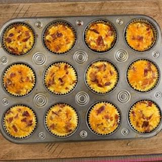 Cách làm bánh cupcake mặn cho bữa sáng