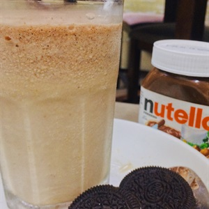 Nutella Ice Frappe