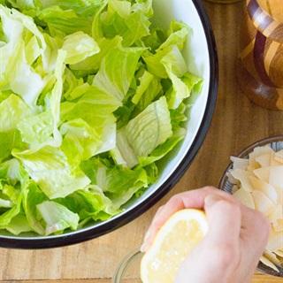 Salad xà lách phô mai