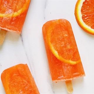 Cách làm kem que rượu cam