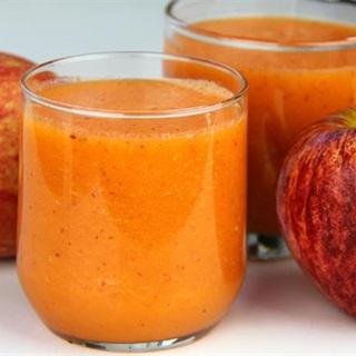 Cách làm sinh tố táo cà rốt