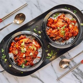 Cách làm thịt heo xào kim chi ngon cơm