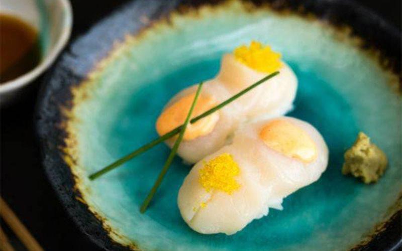 Cách làm sushi sò điệp
