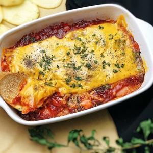 Khoai tây đút lò kiểu Ý - Potato Lasagna