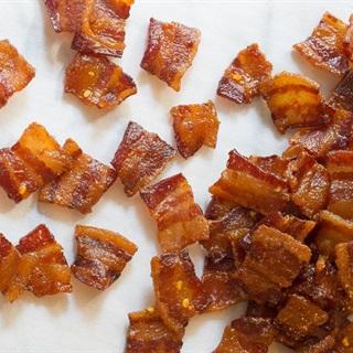 Cách làm Snack thịt xông khói nướng