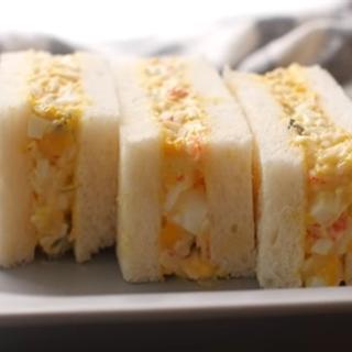Cách làm Sandwich trứng sốt mayonnaise