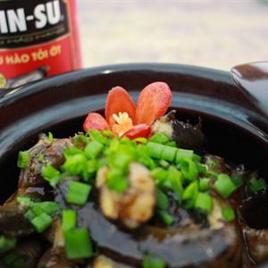 Cá kèo kho dầu hào tỏi ớt CHIN-SU