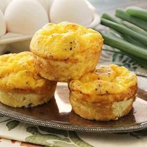 Bánh muffin trứng phô mai