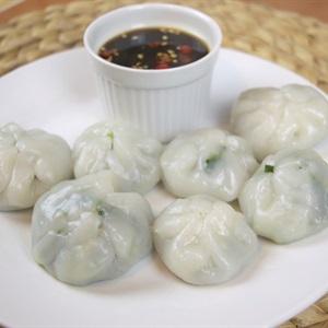 Bánh hấp nhân hẹ Trung Quốc