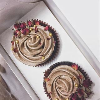 Cách làm Chocolate cupcake cho người ăn chay thuần