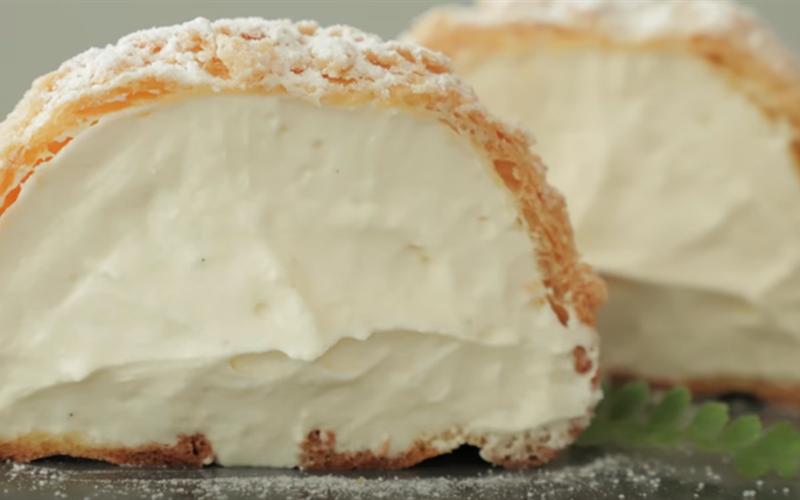 Cách Làm Bánh Cookie Choux | Nhân Kem Phô Mai