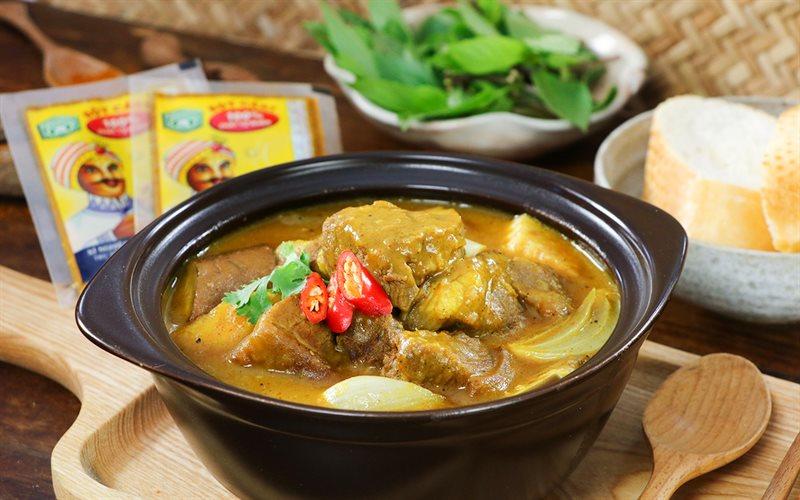 Cách nấu Cà Ri Dê cay Ấn Độ đúng cách, cực thơm ngon