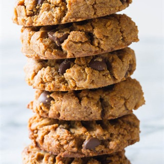 Cách làm Chocolate Chip Cookies bơ đậu phộng siêu đơn giản