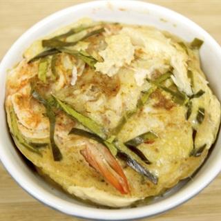 Cách làm trứng đúc hải sản