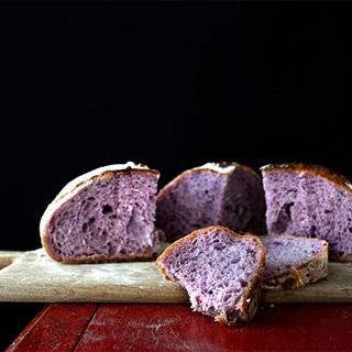 Cách làm bánh mì khoai tím