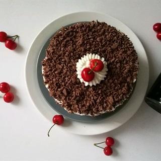 Cách làm bánh kem chocolate béo thơm