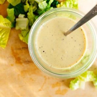 Cách làm Sốt mù tạt trộn salad