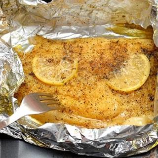 Cách làm cá nướng bơ chanh giấy bạc