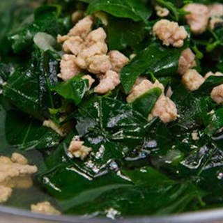 Cách làm canh rau ngót nấu thịt băm