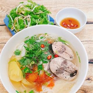 Cách nấu Bún Cá Nha Trang từ cá ngừ thơm ngon cho bữa sáng