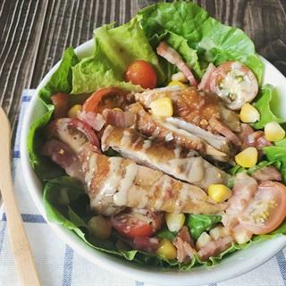 Cách làm Salad gà và bacon - Eat clean