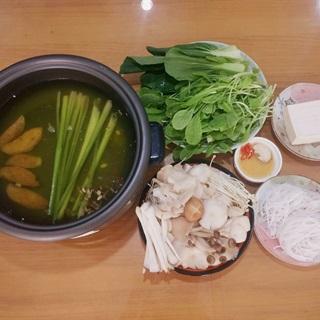 Cách làm Lẩu nấm nấu chay