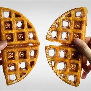 Cách làm bánh waffle lúa mạch