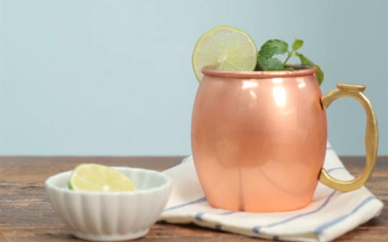 Cách làm Moscow Mule Cocktail ngon đúng điệu, tại nhà