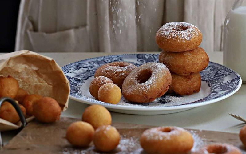 Cách làm bánh donut đậu hũ
