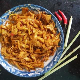Cách làm Mì căn cà ri sả ớt