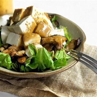 Cách làm salad nấm đậu hũ