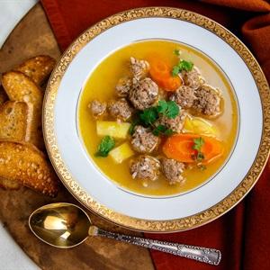 Canh súp thịt viên