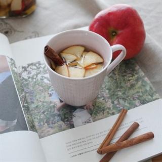 Cách làm trà quế táo đỏ
