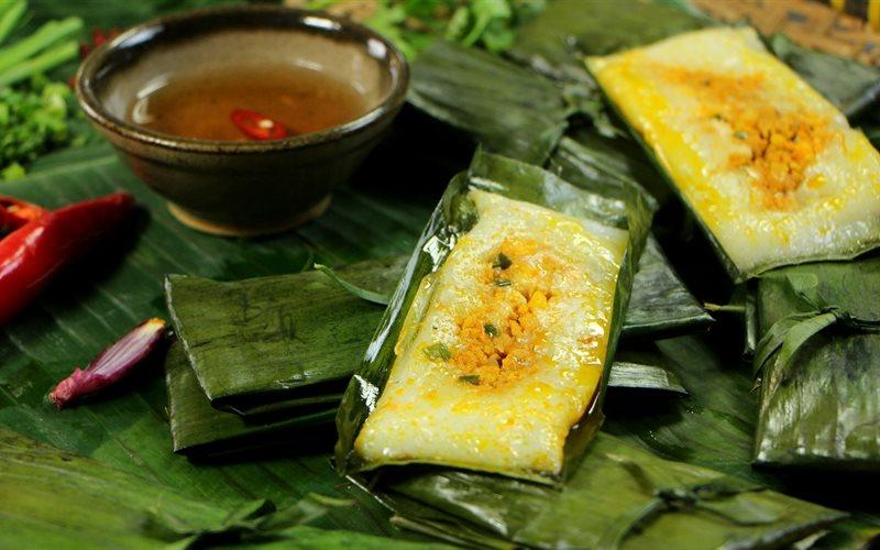 Cách làm Bánh Nậm nhân tôm thịt chuẩn hương vị xứ Huế