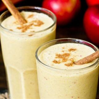 Cách làm sinh tố bí đỏ táo yến mạch