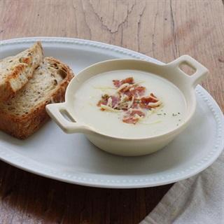 Cách nấu soup khoai tây sữa tươi