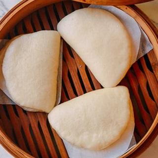 Cách làm bánh bao kẹp kiểu Hoa