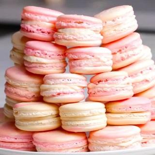 Cách làm Bánh Macarons kem phô mai