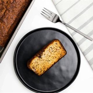 Cách làm bánh mì chuối hạnh nhân