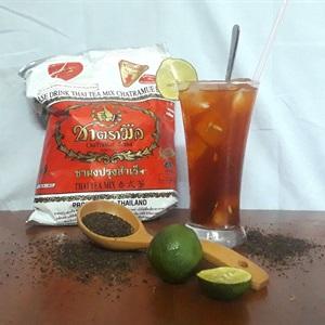 Trà Thái đỏ pha chanh