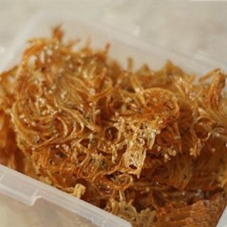 Cách làm khô cá cơm Hàn Quốc chiên chiên béo ngọt