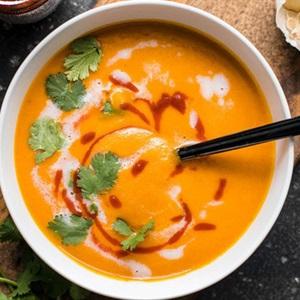 Súp cà rốt dinh dưỡng