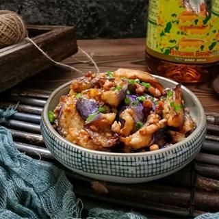 Cách làm cà tím xào thịt thăn