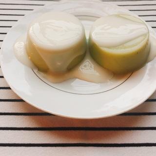 Cách làm Thạch sữa đậu nành lá dứa