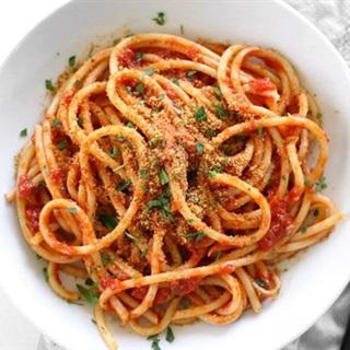 Cách làm spaghetti sốt cà chua