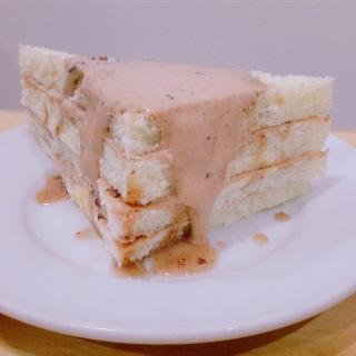 Cách làm sandwich kẹp kem socola