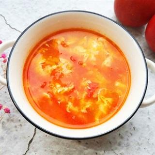 Cách làm canh trứng cà chua bổ dưỡng